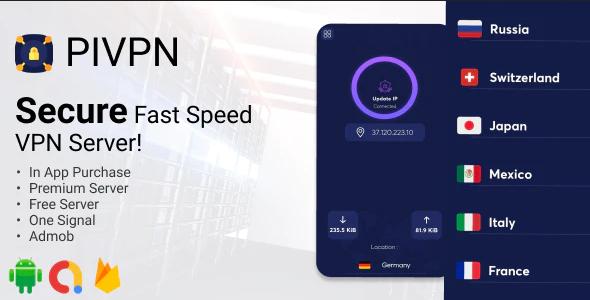 PIVPN v1.0 – Fast Speed Proxy