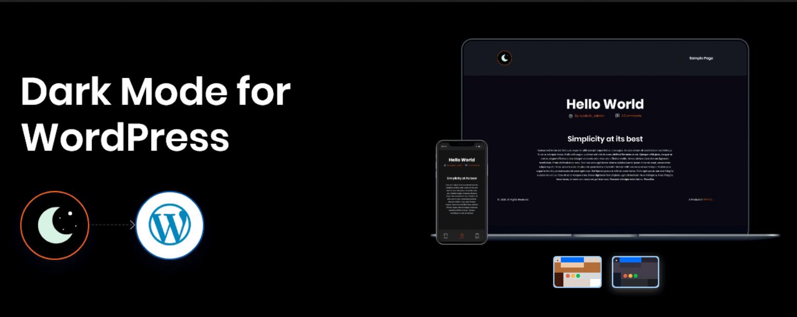 WP Dark Mode Ultimate v2.0.8
